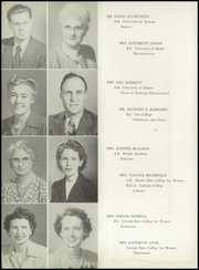 Page 10, 1947 Edition, Miami Edison Senior High School - Beacon Yearbook (Miami, FL) online yearbook collection