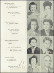Page 13, 1947 Edition, Miami Edison Senior High School - Beacon Yearbook (Miami, FL) online yearbook collection