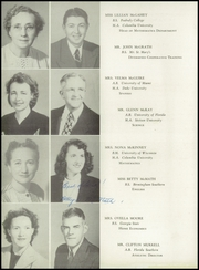 Page 16, 1947 Edition, Miami Edison Senior High School - Beacon Yearbook (Miami, FL) online yearbook collection