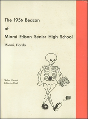 Page 5, 1956 Edition, Miami Edison Senior High School - Beacon Yearbook (Miami, FL) online yearbook collection