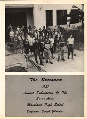 Page 7, 1951 Edition, Mainland High School - Buccaneer Yearbook (Daytona Beach, FL) online yearbook collection