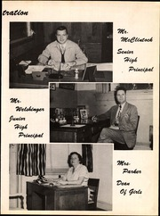 Page 9, 1951 Edition, Mainland High School - Buccaneer Yearbook (Daytona Beach, FL) online yearbook collection