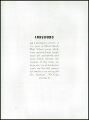 Page 10, 1941 Edition, Miami Beach High School - Typhoon Yearbook (Miami Beach, FL) online yearbook collection