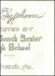 Page 13, 1942 Edition, Miami Beach High School - Typhoon Yearbook (Miami Beach, FL) online yearbook collection