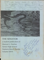 Page 5, 1971 Edition, Duncan University Fletcher High School - Senator Yearbook (Neptune Beach, FL) online yearbook collection