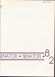 1982 Edition, Duncan University Fletcher High School - Senator Yearbook (Neptune Beach, FL)