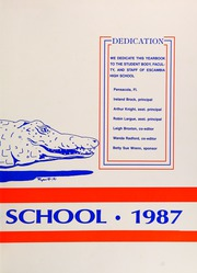 Page 3, 1987 Edition, Escambia High School - Escambian Yearbook (Pensacola, FL) online yearbook collection