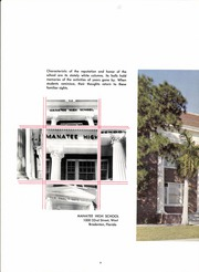 Page 12, 1965 Edition, Manatee High School - Cane Echo Yearbook (Bradenton, FL) online yearbook collection