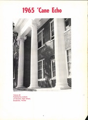 Page 7, 1965 Edition, Manatee High School - Cane Echo Yearbook (Bradenton, FL) online yearbook collection