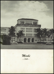Page 7, 1949 Edition, Miami High School - Miahi Yearbook (Miami, FL) online yearbook collection