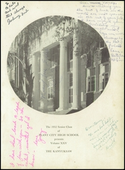 Page 5, 1952 Edition, Plant City High School - Yesterday Yearbook (Plant City, FL) online yearbook collection