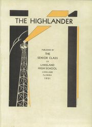 Page 5, 1931 Edition, Lakeland High School - Highlander Yearbook (Lakeland, FL) online yearbook collection