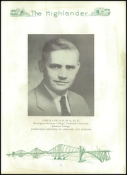 Page 17, 1935 Edition, Lakeland High School - Highlander Yearbook (Lakeland, FL) online yearbook collection