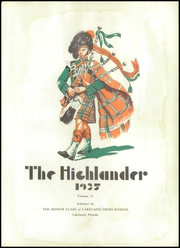Page 7, 1935 Edition, Lakeland High School - Highlander Yearbook (Lakeland, FL) online yearbook collection