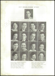 Page 8, 1935 Edition, Lakeland High School - Highlander Yearbook (Lakeland, FL) online yearbook collection