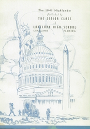 Page 7, 1941 Edition, Lakeland High School - Highlander Yearbook (Lakeland, FL) online yearbook collection