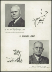 Page 16, 1944 Edition, Lakeland High School - Highlander Yearbook (Lakeland, FL) online yearbook collection