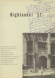 Page 5, 1951 Edition, Lakeland High School - Highlander Yearbook (Lakeland, FL) online yearbook collection