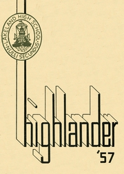 Page 1, 1957 Edition, Lakeland High School - Highlander Yearbook (Lakeland, FL) online yearbook collection