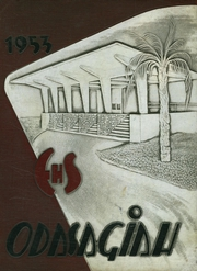 1953 Edition, Edgewater High School - Odasagiah Yearbook (Orlando, FL)