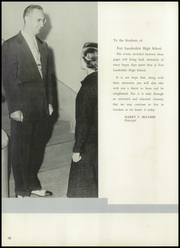 Page 14, 1957 Edition, Fort Lauderdale High School - Ebb Tide Yearbook (Fort Lauderdale, FL) online yearbook collection