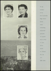 Page 9, 1957 Edition, Fort Lauderdale High School - Ebb Tide Yearbook (Fort Lauderdale, FL) online yearbook collection