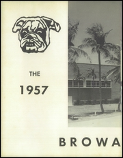 Page 6, 1957 Edition, South Broward High School - Browardier Yearbook (Hollywood, FL) online yearbook collection