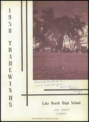 Page 5, 1958 Edition, Lake Worth High School - Tradewinds Yearbook (Lake Worth, FL) online yearbook collection