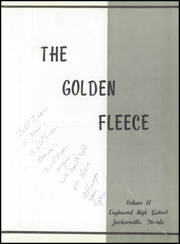Page 7, 1959 Edition, Englewood High School - Golden Fleece Yearbook (Jacksonville, FL) online yearbook collection