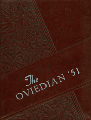 1951 Edition, Oviedo High School - Oviedian Yearbook (Oviedo, FL)