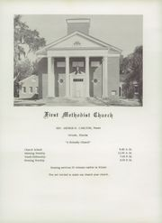 Page 12, 1957 Edition, Oviedo High School - Oviedian Yearbook (Oviedo, FL) online yearbook collection