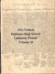 Page 3, 1976 Edition, Kathleen High School - Trident Yearbook (Lakeland, FL) online yearbook collection