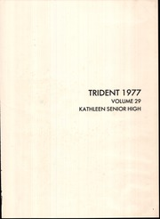 Page 5, 1977 Edition, Kathleen High School - Trident Yearbook (Lakeland, FL) online yearbook collection