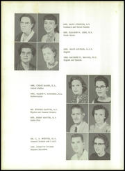 Page 14, 1958 Edition, Milton High School - Panthers Paw Yearbook (Milton, FL) online yearbook collection
