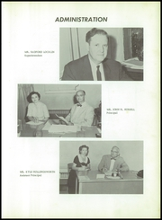 Page 9, 1958 Edition, Milton High School - Panthers Paw Yearbook (Milton, FL) online yearbook collection