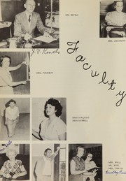 Page 10, 1951 Edition, Cocoa High School - Sandscript Yearbook (Rockledge, FL) online yearbook collection