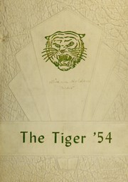 1954 Edition, Cocoa High School - Sandscript Yearbook (Rockledge, FL)