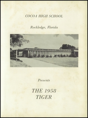 Page 7, 1958 Edition, Cocoa High School - Sandscript Yearbook (Rockledge, FL) online yearbook collection