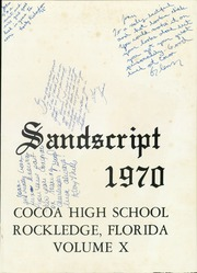 Page 5, 1970 Edition, Cocoa High School - Sandscript Yearbook (Rockledge, FL) online yearbook collection