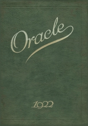 Andrew Jackson High School - Oracle Yearbook (Jacksonville, FL) online yearbook collection, 1922 Edition, Page 1