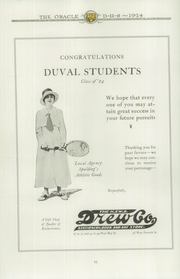 Page 16, 1924 Edition, Andrew Jackson High School - Oracle Yearbook (Jacksonville, FL) online yearbook collection