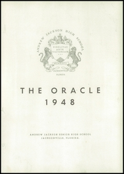 Page 7, 1948 Edition, Andrew Jackson High School - Oracle Yearbook (Jacksonville, FL) online yearbook collection