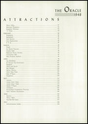 Page 9, 1948 Edition, Andrew Jackson High School - Oracle Yearbook (Jacksonville, FL) online yearbook collection