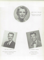 Page 11, 1955 Edition, Andrew Jackson High School - Oracle Yearbook (Jacksonville, FL) online yearbook collection