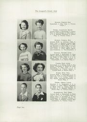 Page 14, 1946 Edition, Hernando High School - Leopards Growl Yearbook (Hernando, FL) online yearbook collection