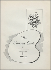 Page 5, 1953 Edition, Crestview High School - Crimson Crest Yearbook (Crestview, FL) online yearbook collection