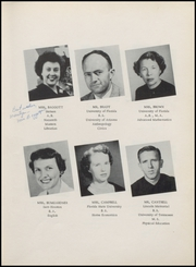 Page 17, 1957 Edition, Crestview High School - Crimson Crest Yearbook (Crestview, FL) online yearbook collection