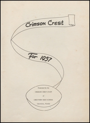 Page 5, 1957 Edition, Crestview High School - Crimson Crest Yearbook (Crestview, FL) online yearbook collection