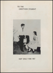 Page 9, 1957 Edition, Crestview High School - Crimson Crest Yearbook (Crestview, FL) online yearbook collection