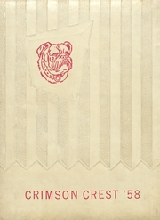 1958 Edition, Crestview High School - Crimson Crest Yearbook (Crestview, FL)
